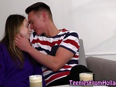 Dutch teen cum soaked
