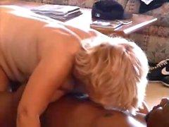 horny mature wife adoring black dicks