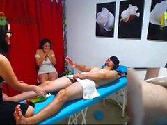 Asian Versteckte Massage