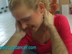 Sexig tjeckiska mamma gör band och lapdances