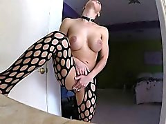 Nicole's self shot solo masturbation