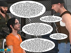 3D Comic: The Eyeland Project. Episode 26. The Perfect Storm