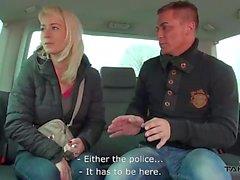 Cheating wife fucks a stranger in traffic