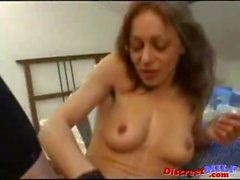 European Skinny MILF gets Deep Anal Penetration