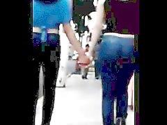 Jovencita Nalgona En Jeans Prueba