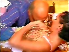 Betty Bell french bitch gangbanged by old men & Ovidie fucked in stockings