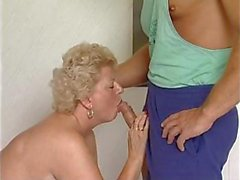 Mature plumper is getting a massage and a workout with a hard cock