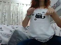 Hot Slut Dildos Pussy Through Jeans 3