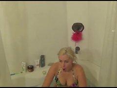 Hot Horny Busty Blonde in a Bikini