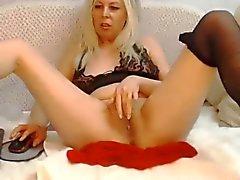 Pantyhose Squirt (Webcam)
