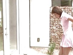 HOLED - Step-brother pounds student Adria Rae's asshole