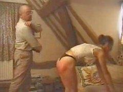 spanked at