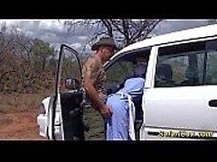 real african safari sex trip
