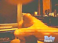 Taraftarları onun ham cock vuruşları ile Angel a POV artık video da çekiyor