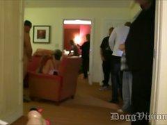 3 Big Butt BBW Group Sex GangBang