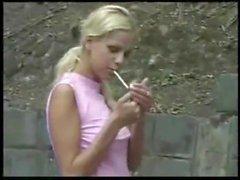 Voyeur Smoking babes 1
