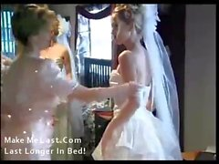 Here Cums In The Bride