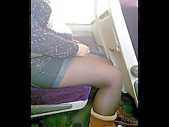 Short impartiales et Tights Collants ou de sur le train