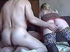 çorap ve eski erkekte Rusya'nın kız