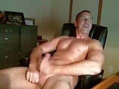 bisexuell pappa strök hans kuk