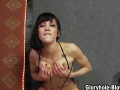 Slutty gloryhole bitch