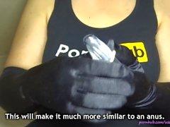 Wie Sie Ihre eigene Vagina oder Anus Sex-Spielzeug (DIY Fleshlight / Muschi / Anus) machen
