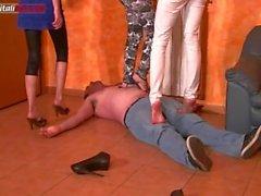 multi mistress trample!!!