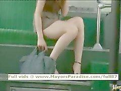 Rio viaton kiinalainen tyttö on perseestä bussissa