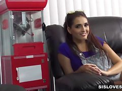 SisLovesMe - Teeny Stepsis Loves Sucking My Cock