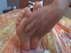 Tickle Asian feet