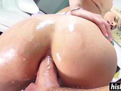 Kate England gets her asshole plunged