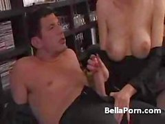 Italian mom invites her son's friend over to fuck young dick