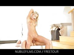 Nubile Films - Dido Angel has a creampie puss
