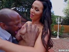 Nikki Benz Fucks Outdoor