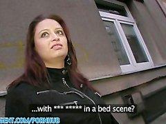 PublicAgent HD Sehr große Boob Sirale Falling for dem Fake- filme Die Rolle