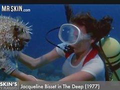Underwater nude scenes