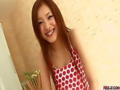 Super sexig klipp med Suzuka Ishikawa kuk studsar