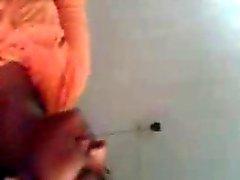 Gros seins de southindian Mallu de fille de sucer par des son mec chez vous
