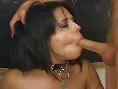 Sassy Babe Gets A Tasty Mouthful...
