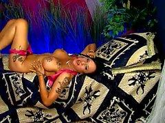 Tiffany Morriss on GG in Shiny Heels