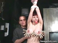 Vivian is hot MILF who ends tied part3