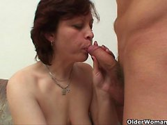 Cum craving mom will take your load anytime