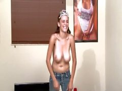 Young student fucking beautiful breasts