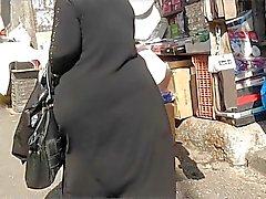 Del culo Árabes franca - Big Nalgas - la calle de Voyerista - botín de maduro