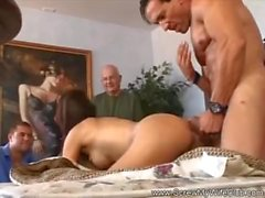 Hubby Watches His Wife Cheat On Him