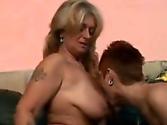 2 Horny grannies play with each others experienced cunts