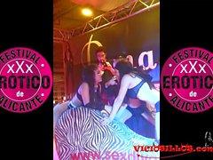 Ana Marco, Kiara Diletto y Sr Filth en el FEDA 2013