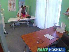 FakeHospital Die Ärzte magischen Hahn ergibt Vokal geilen Orgasmen von Patienten