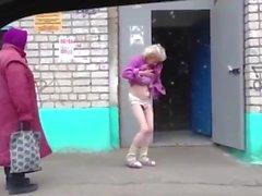 Dancing funny granny