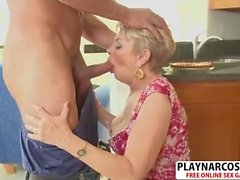 Gorgeous Step Mom Lin Boyde Riding Cock Good Her Stepson